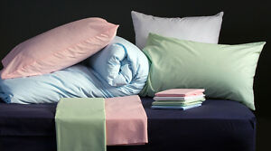 Caravan Fitted Sheet 200tc Percale Cotton Blend Right/Left Cut Off & Island Bed