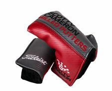 Titleist Scotty Cameron Design Milled Putters Mallet Headcover (Red/Gray) NEW
