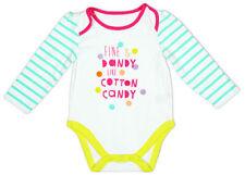 Peleles y bodies multicolor para niñas de 0 a 24 meses