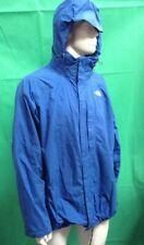 "Mens The North Face Hyvent Rain Jacket+Hideaway Hood Blue Size XXL Upto 50"""