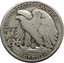 1947 WALKING LIBERTY Half Dollar Bald Eagle United States Silver Coin i45155