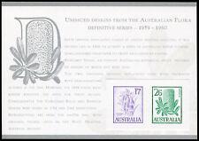 Australia Replica Card #30 Unissued Flora Definitives Die Proof