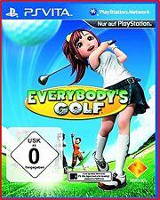 Everybody's Golf (Sony PlayStation Vita, 2012)