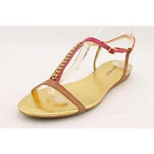 Calzado de mujer sandalias con tiras beige Nine West