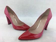 Stuart Weitzman Pink/red Ombré Patent Leather Pump Size 9  RH11163#