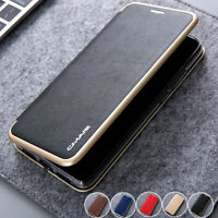 For Huawei P20 Lite P30 Pro Magnetic Wallet Case Card Stand Leather Flip Cover