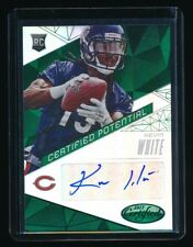 KEVIN WHITE 2015 CERTIFIED POTENTIAL AUTOGRAPH MIRROR GREEN RC AUTO 5/5 *BEARS*