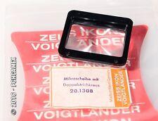 VOIGTLANDER ZEISS IKON FOCUSING SCREEN 20.1308 W/CROSSHAIRS.IKAREX 35 NIP