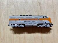 Kato N Scale Western Pacific Locomotive Lighted Runs Good No Box