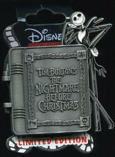 DSF Nightmare Before Christmas Book Oogie Boogie LE Disney Pin 92219