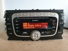 FORD SONY MP3 DAB 6 DISC CAR RADIO CD PLAYER MONDEO FOCUS CONNECT S MAX GALAXY