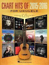 Chart Hits Of 2015 - 2016 Ukulele Book *NEW* Sheet Music
