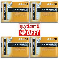 40 X Duracell Industrial AA Batteries Alkaline LR6 MN1500 Replaces Procell 1.5V