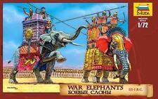 Zvezda         1:72 WAR ELEPHANTS III-I BC  ZVE8011