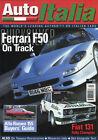 Auto Italia magazine Apri 2002 Ferrari F50 Alfa 155 Fiat 131 Rallye Ducati Indy