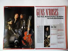 COUPURE DE PRESSE-CLIPPING : GUNS N'ROSES [6pages] 2011 Ron Thal,Richard Fortus