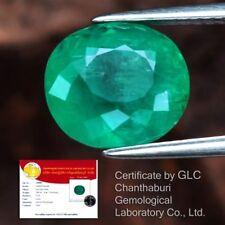 ! Raro! 3.80ct 10x9mm Oval Natural Verde Esmeralda, Etiopía * Certificado #365