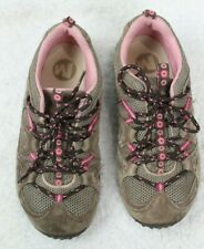 Merrell Cami Sport Bracken Pink Suede Toggle Sport Shoes J35170Y Girls Size3