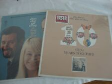 2 PETER, PAUL and MARY record ALBUMs LPs SEALED rare LP COLLECTIBLE w/ SONG BOOK