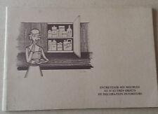Entretenir ses meubles et d'autres objets de décoration intérieure EO Brandt