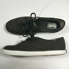 Keds Shoes Women Champion Heathered Wool Green Lace Up Fashion Sneaker Size 6.5