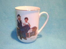 The Lighthouse Keeper's Daughter Norman Rockwell Museum Mug Series 1982