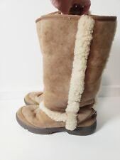 UGG Size 8 Sunburst Genuine Shearling Tall Boots