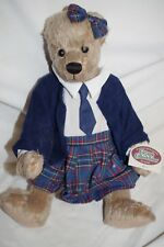 "Cottage Collectibles by GANZ Mary School Bear Doll 16"" Original Tag"