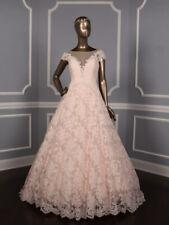 Romona Keveza L7133 Rose Blush Ball Gown Lace Wedding Dress Legends $6.15K
