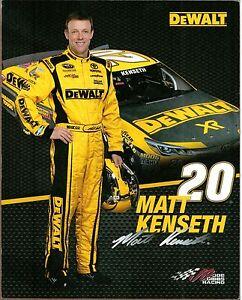 Two Matt Kenseth NASCAR Color Photocards, (Preprints)