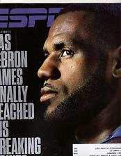 ESPN Magazine - May 8, 2017 Issue - LeBron James Cover - NBA, Cavs, Sharapova
