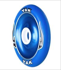 110mm x 20mm x 88a blue YAK SLIMLINE Metalcore Scooter Wheel, pair with bearings