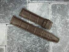 NEW 21mm Genuine Leather Strap Band Portuguese Chronograph Top Gun Brown J5