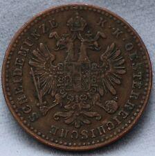 Oostenrijk - Austria 1 kreuzer 1859 B - KM# 2186