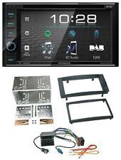 Kenwood USB DVD DAB MP3 Bluetooth 2DIN Autoradio für VW Touareg T5 Caravelle Mul