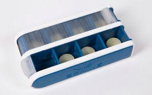 Pivotell Daily Pill Medication Organiser - with easy open roller shutter