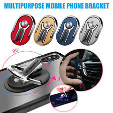 Multipurpose Mobile Phone Holder Finger Ring Holder 360 Degree Car Air Vent Grip