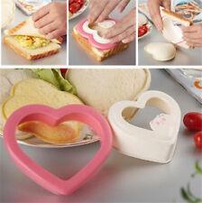 Süße Herz-Form Ausstecher Sandwich Toast Brot-Form für Party Haus Frühstück DIY