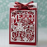 Carbon Steel Cutting Die Cut Stencil Christmas Card Scrapbooking Embossing Craft