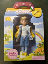 Lottie Muddy Puddles Blonde Hair Blue Eyes Doll 2017 Arklu Schylling