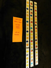 WATLING EARLY REPRO WHITE ANTIQUE 1MS3B/M2F/MB3 SLOT MACHINE REEL STRIPS #WER6