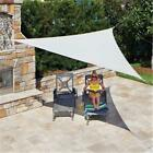 Gale Pacific 449315 Ready To Hang Shade Sail Triangle 16 ft. x 5 in. Pebble