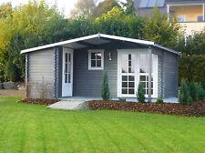 Gartenhaus Blockhaus Gerätehaus Holz 510x480,40 mm ohne Fussboden mit ISO 40395.