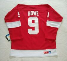 Replica Gordie Howe #9 Detroit Red Wings Jersey - Size 50 Large