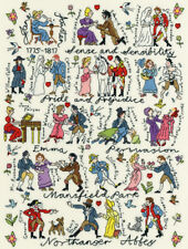 Bothy Threads Cross Stitch Kit - Jane Austen