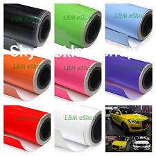 High Quality Gloss Vinyl Wrap Sheet Car Wrap Vinyl Wrapping  'Air Bubble Free'
