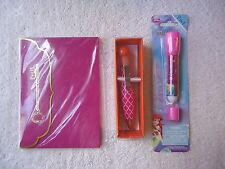 """Mixed Lot Of 3 """" Nip """" Girls Items """",1,Journal,1,2 in 1 Pen,1,Bubble Pen """" Great"""