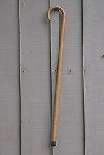 Classic Style Natural Wood Wooden Cane Walking Stick w Rubber Tip Approx. 35""