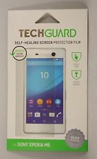 Techguard SELF-HEALING PROTEGGI SCHERMO per Sony Xperia M5-resistente ai graffi