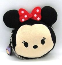 Disney Minnie Mouse Tsum Tsum Mini Purse with Chain Strap w/ Eeyore Zipper Pull
